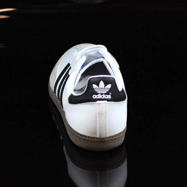 adidas Samba Shoes White, Black, Gum Rotate 12 O'Clock