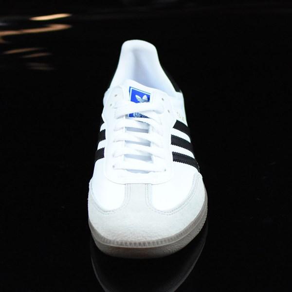 adidas Samba Shoes White, Black, Gum Rotate 6 O'Clock