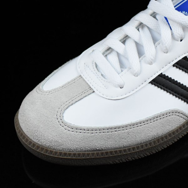samba shoes white black gum in stock at the boardr