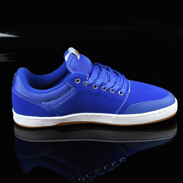 etnies Marana X Hook-Ups Shoes Royal Rotate 3 O'Clock
