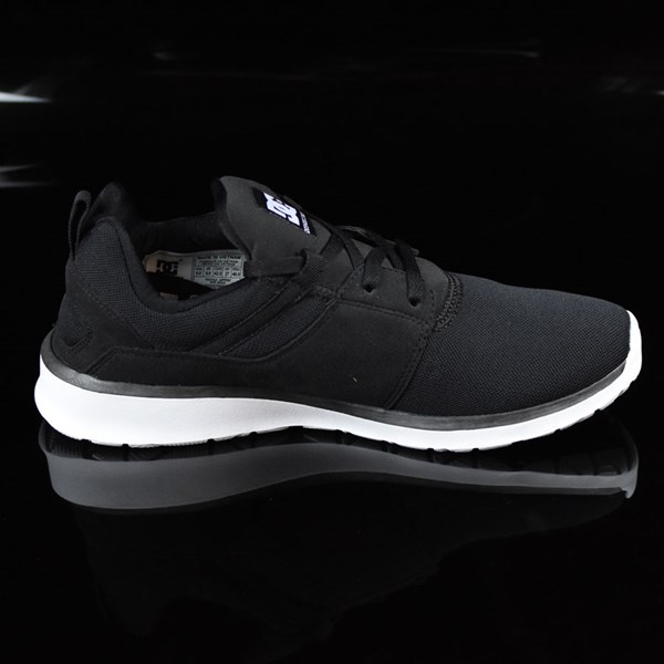 DC Shoes Heathrow Shoes Black, White Rotate 3 O'Clock