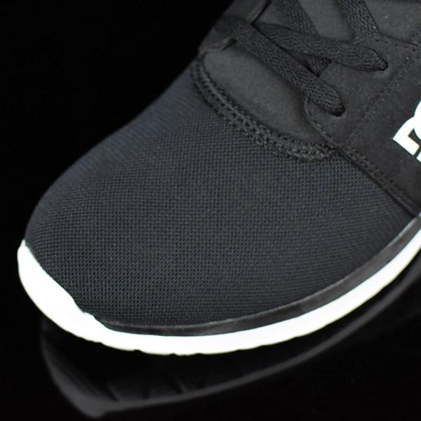 DC Shoes Heathrow Shoes Black, White Closeup