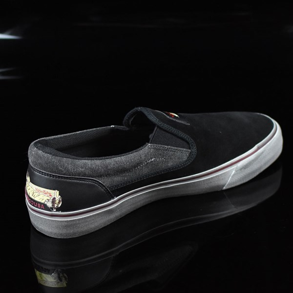 DC Shoes Trace Slip-On Cliver Shoes Black Rotate 1:30