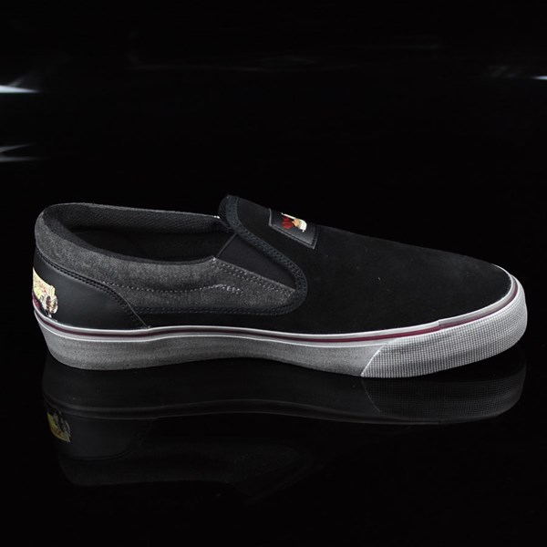DC Shoes Trace Slip-On Cliver Shoes Black Rotate 3 O'Clock