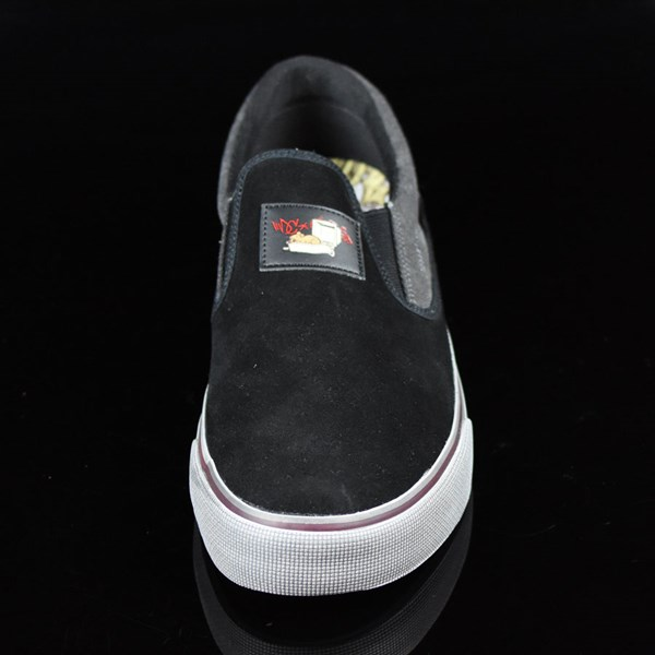 DC Shoes Trace Slip-On Cliver Shoes Black Rotate 6 O'Clock