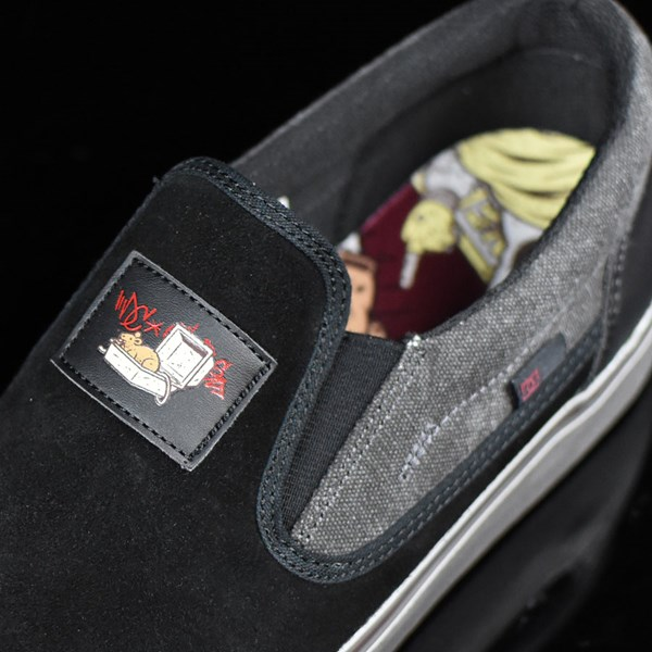 DC Shoes Trace Slip-On Cliver Shoes Black Tongue