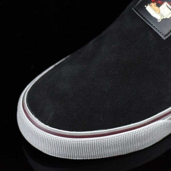 DC Shoes Trace Slip-On Cliver Shoes Black Closeup