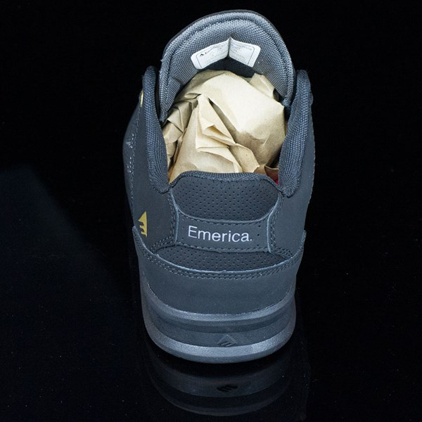 Emerica The Reynolds Low Shoes Black, Black Rotate 12 O'Clock