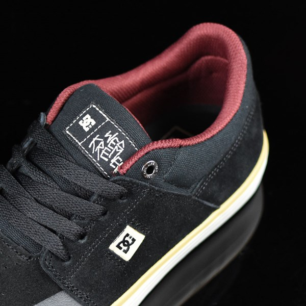 DC Shoes Wes Kremer S Shoes Black, Cream, SE Tongue