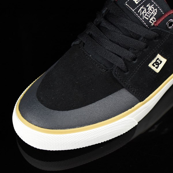 DC Shoes Wes Kremer S Shoes Black, Cream, SE Closeup