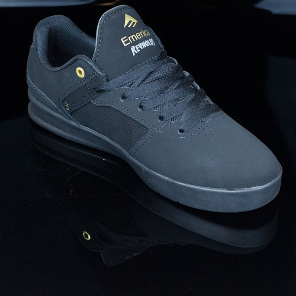 Emerica The Reynolds Low Shoes Black, Black Rotate 4:30