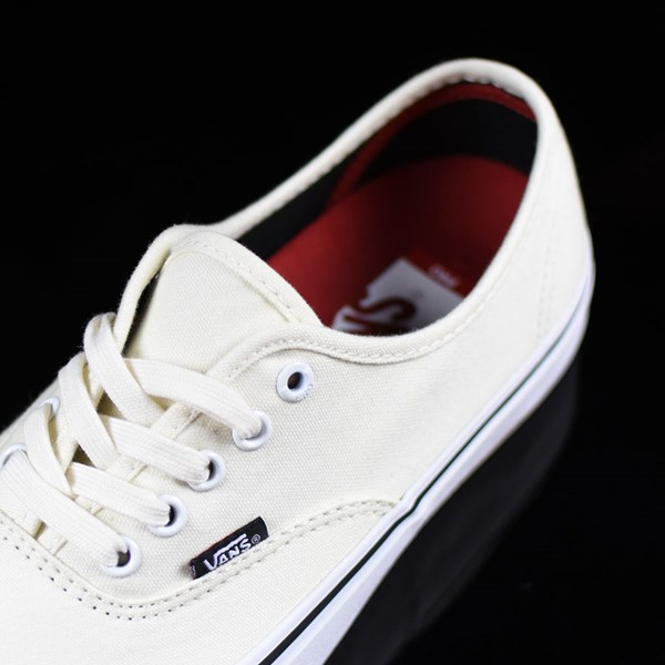 Vans Authentic Pro Shoes White, White Tongue