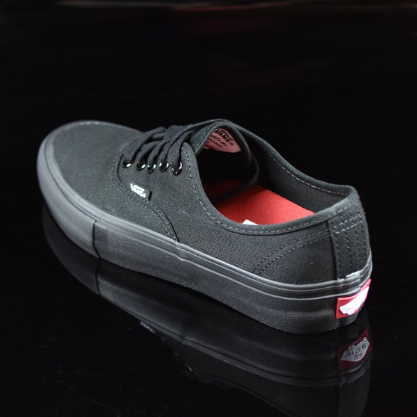 Vans Authentic Pro Shoes Black, Black Rotate 7:30