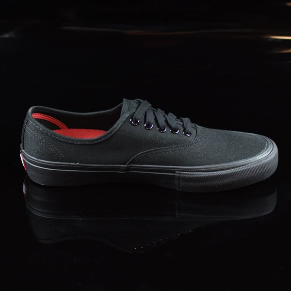 Vans Authentic Pro Shoes Black, Black Rotate 3 O'Clock