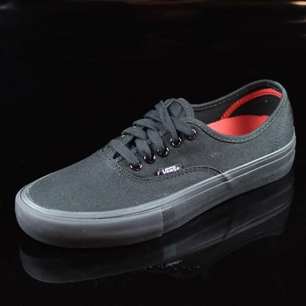 Vans Authentic Pro Shoes Black, Black Rotate 7:30
