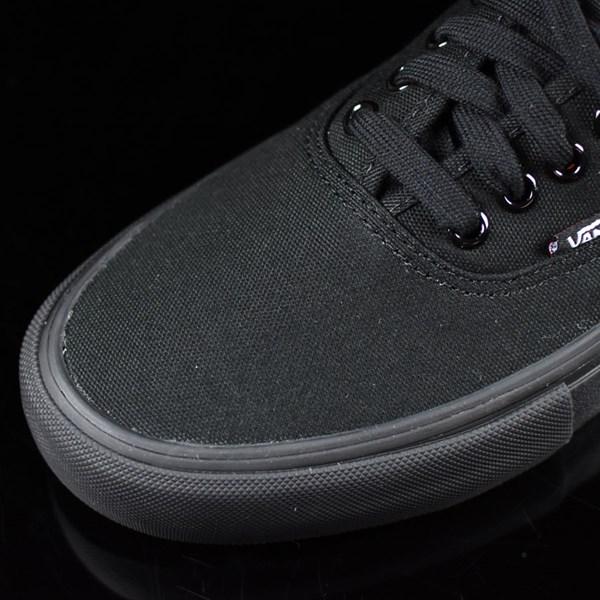 Vans Authentic Pro Shoes Black, Black Closeup