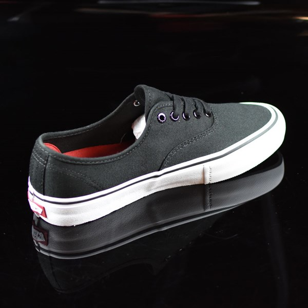 Vans Authentic Pro Shoes Black, White Rotate 1:30