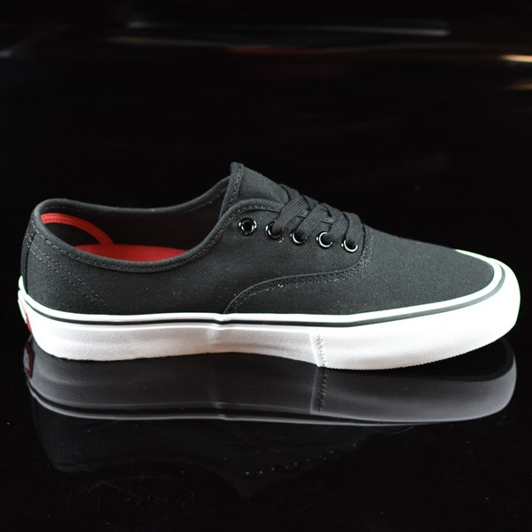 Vans Authentic Pro Shoes Black, White Rotate 3 O'Clock