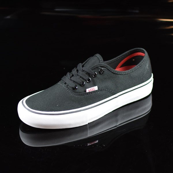 Vans Authentic Pro Shoes Black, White Rotate 7:30