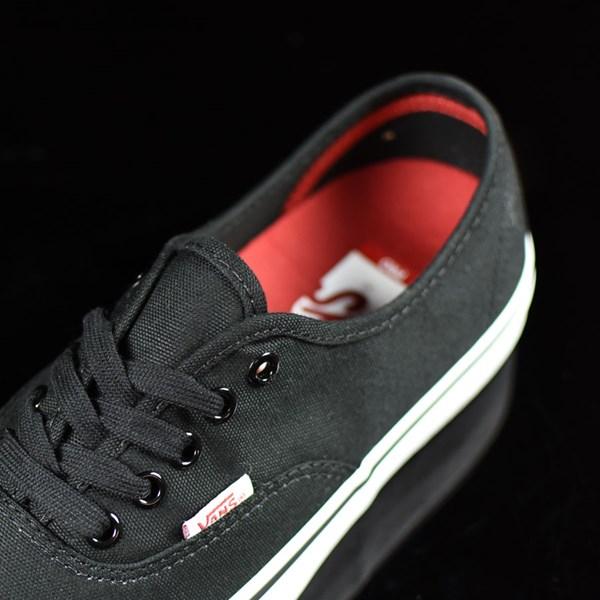 Vans Authentic Pro Shoes Black, White Tongue