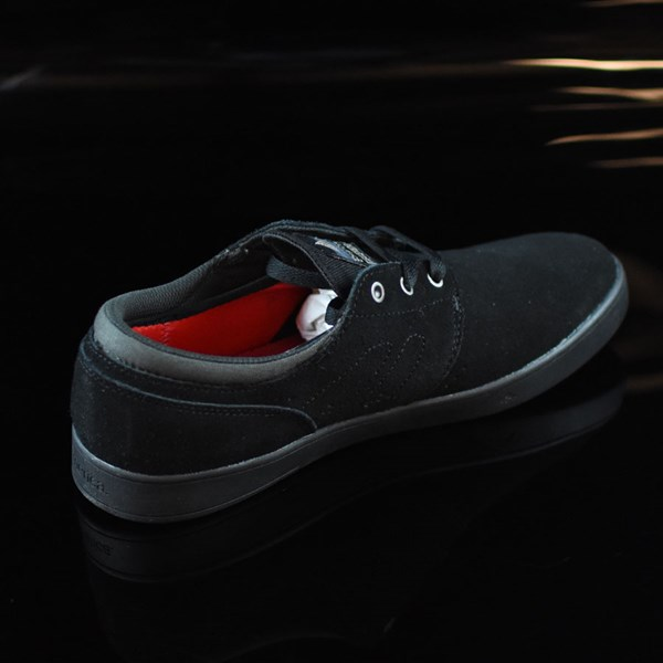 Emerica The Figueroa Shoes Black, Black Rotate 1:30