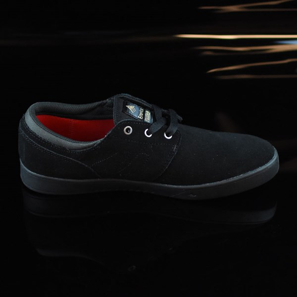 Emerica The Figueroa Shoes Black, Black Rotate 3 O'Clock
