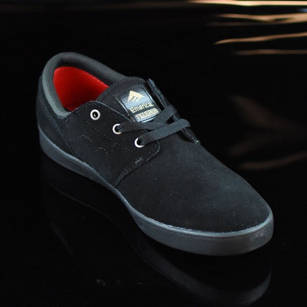 Emerica The Figueroa Shoes Black, Black Rotate 4:30