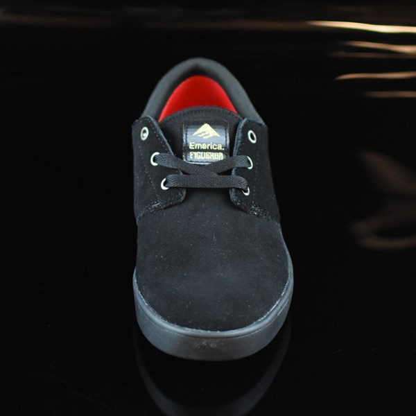 Emerica The Figueroa Shoes Black, Black Rotate 6 O'Clock
