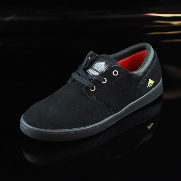 Emerica The Figueroa Shoes Black, Black Rotate 7:30