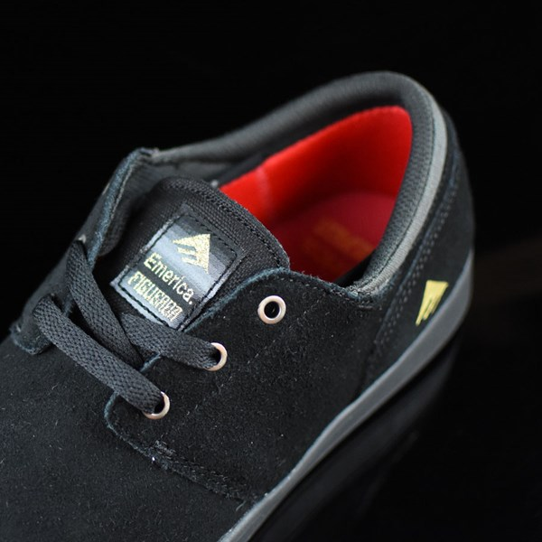Emerica The Figueroa Shoes Black, Black Tongue