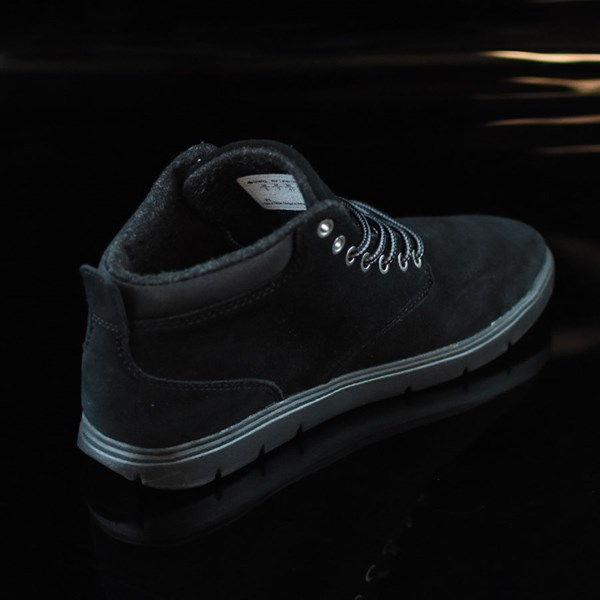 Emerica Wino Cruiser Hi LT Shoes Black, Black Rotate 1:30