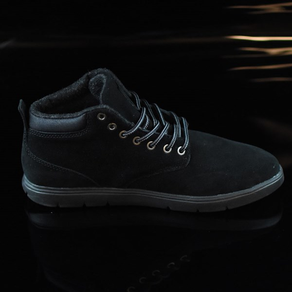 Emerica Wino Cruiser Hi LT Shoes Black, Black Rotate 3 O'Clock