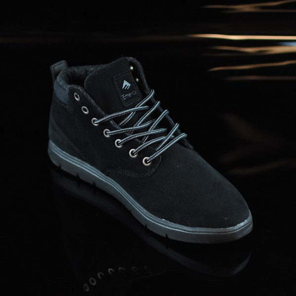 Emerica Wino Cruiser Hi LT Shoes Black, Black Rotate 4:30