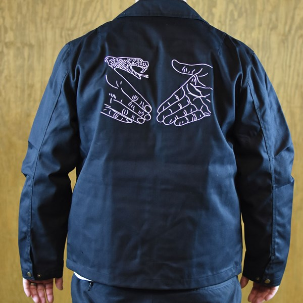 Doom Sayers DSC X Knowledge Garage Jacket Black back