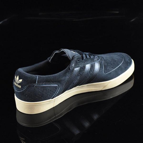adidas Silas Vulc ADV Shoes Black, Black, Gum Rotate 1:30
