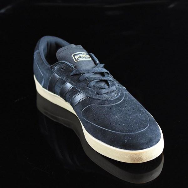 adidas Silas Vulc ADV Shoes Black, Black, Gum Rotate 4:30