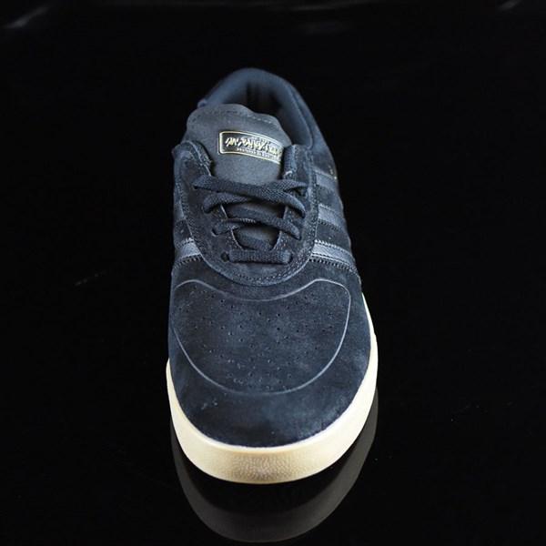 adidas Silas Vulc ADV Shoes Black, Black, Gum Rotate 6 O'Clock