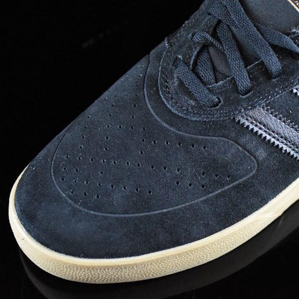 adidas Silas Vulc ADV Shoes Black, Black, Gum Closeup