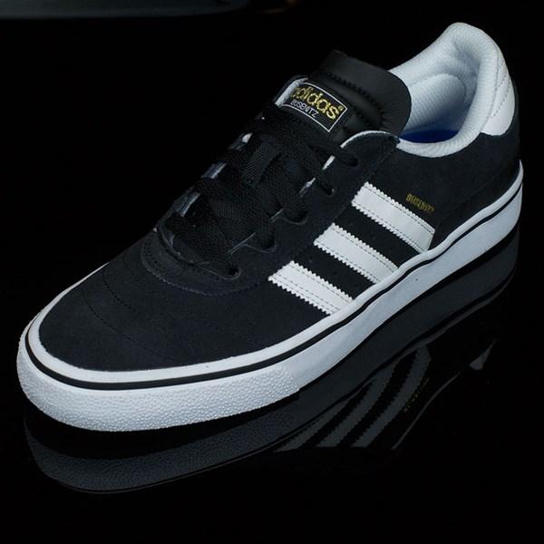 adidas Dennis Busenitz Vulc Shoes Black, Running White, Black Rotate 7:30