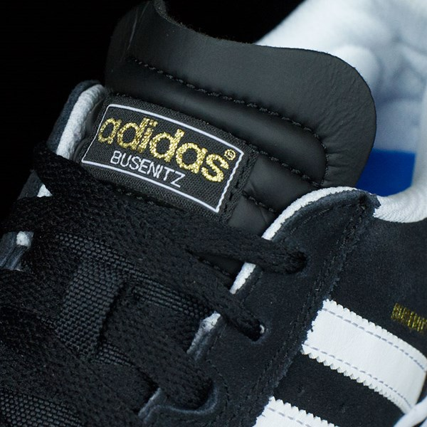adidas Dennis Busenitz Vulc Shoes Black, Running White, Black Tongue