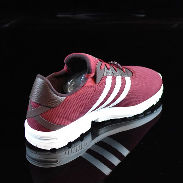 adidas ZX Gonz Shoes Burgundy, White Rotate 1:30
