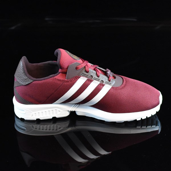 cheaper 62813 4b614 ZX Gonz Shoes Burgundy, White In Stock at The Boardr