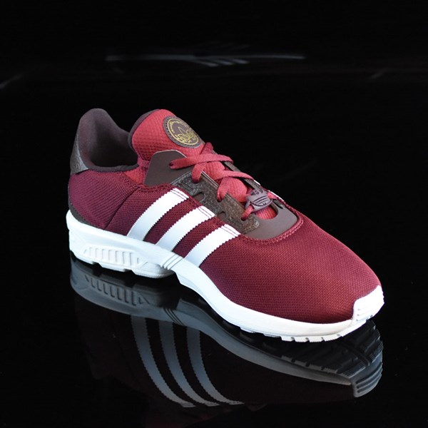 adidas ZX Gonz Shoes Burgundy, White Rotate 4:30