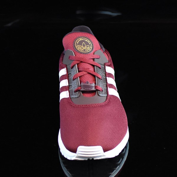 adidas ZX Gonz Shoes Burgundy, White Rotate 6 O'Clock