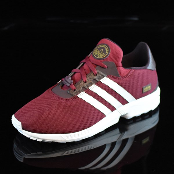 adidas ZX Gonz Shoes Burgundy, White Rotate 7:30