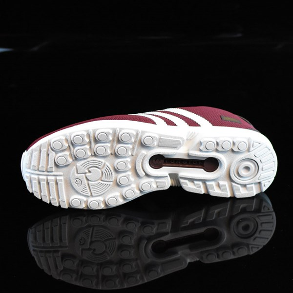 adidas ZX Gonz Shoes Burgundy, White Sole