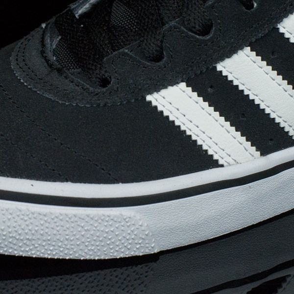 adidas Dennis Busenitz Vulc Shoes Black, Running White, Black Closeup