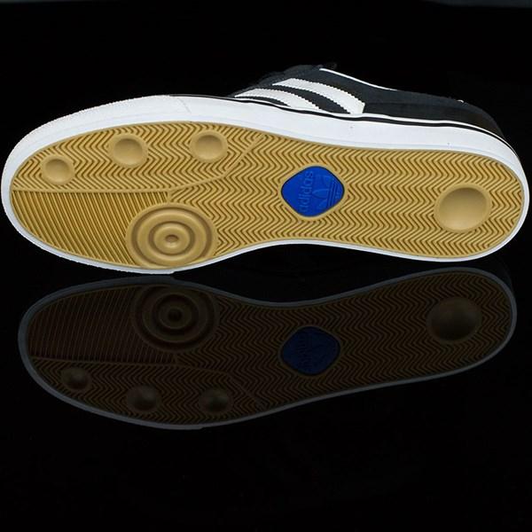 adidas Dennis Busenitz Vulc Shoes Black, Running White, Black Sole