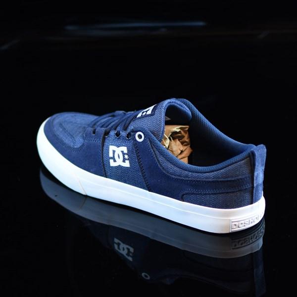 DC Shoes Lynx Vulc TX Shoes Navy Rotate 7:30