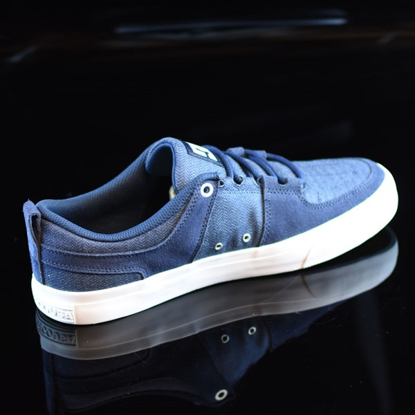 DC Shoes Lynx Vulc TX Shoes Navy Rotate 1:30